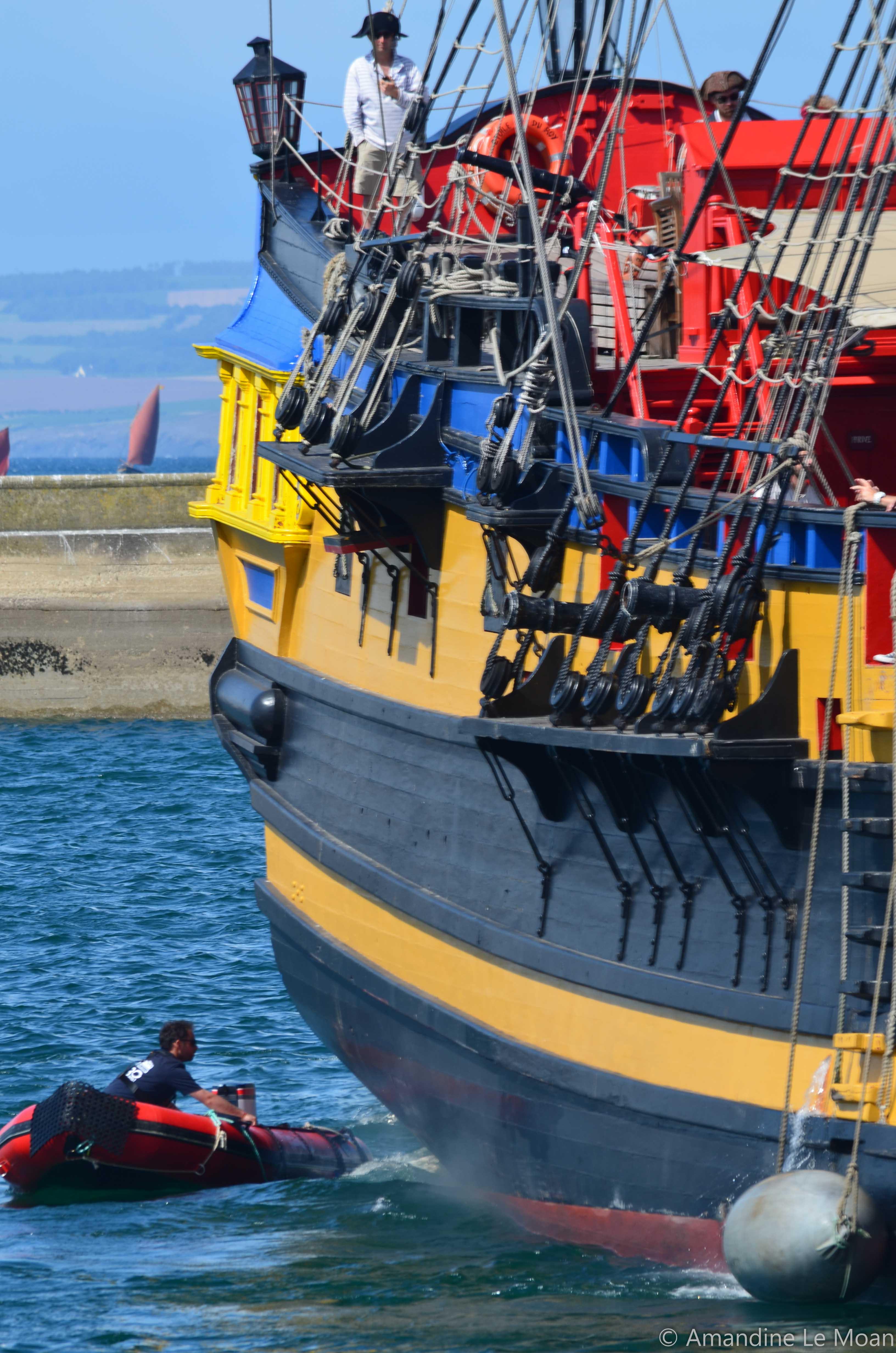Temps Fête, bénévoles, association, festival, mer, bateaux, gréements, Douarnenez, Finistère, Etoile du Roy