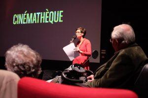 projection temps fête cinémathèque de Bretagne et Port-Musée
