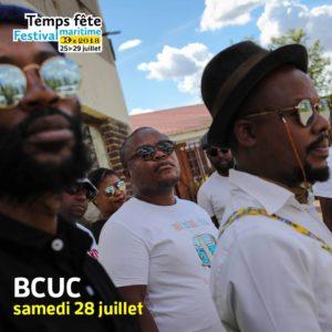 BCUC au festival Teps fête, douarnenez, 2018