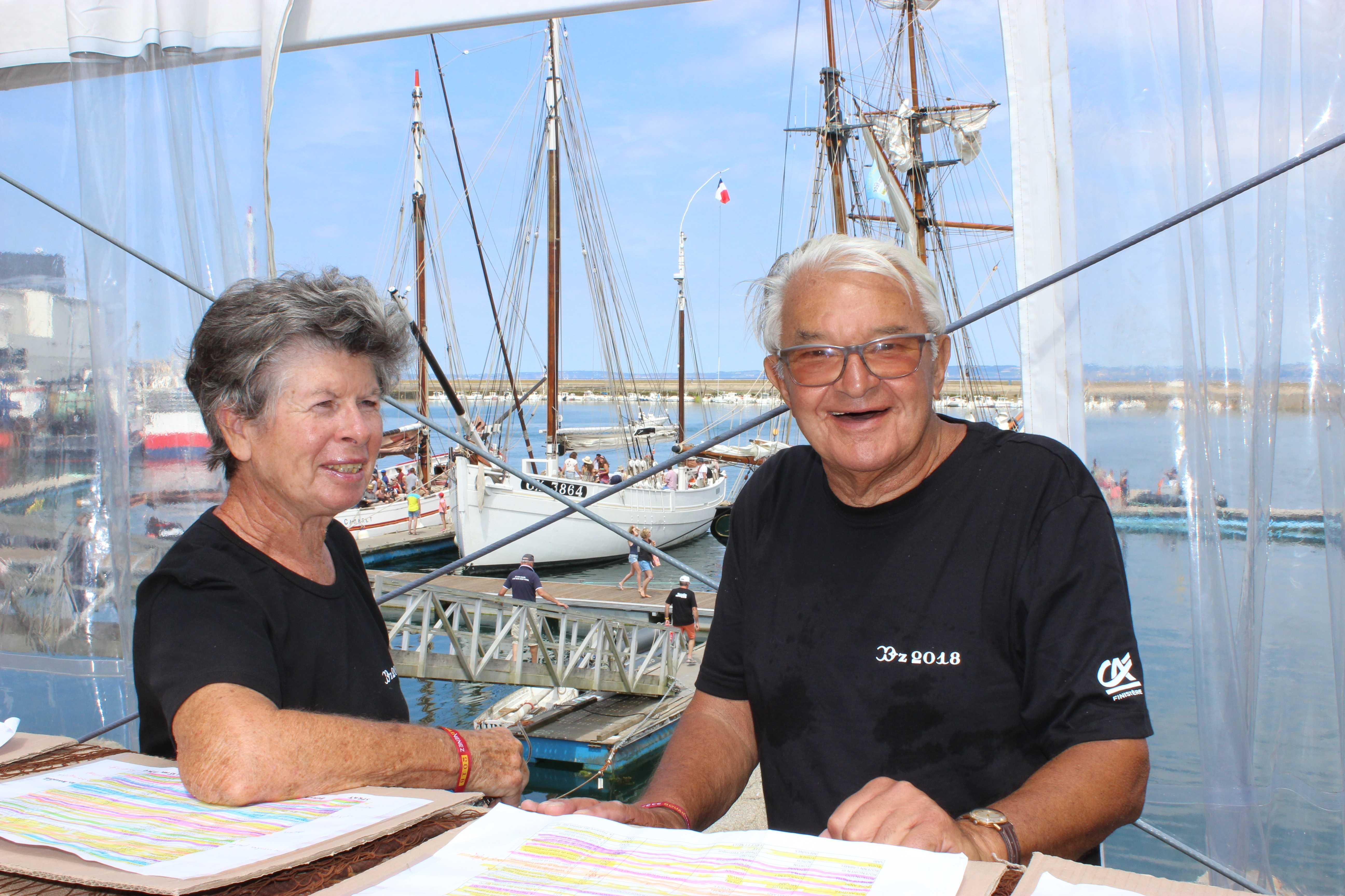 temps fête, douarnenez, équipage, vieux gréements, festival maritime